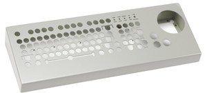 Satellite control keyboard