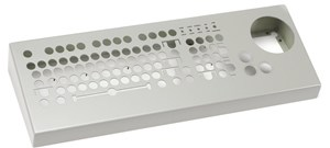 Satellite control keyboard